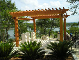Pergola kit as seen on HGTV Landscaper's Challenge