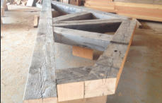 Antique Timbers For Timber Trusses