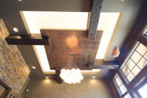 Clear Douglas Fir Ceiling Texas Ranch Contemporary - Jon Luce Builder